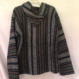 "Sweaters - Multi colored ""drug rug"""